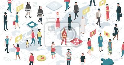 Connecter des personnes à travers le monde