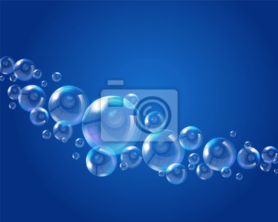Contexte de bulles de savon