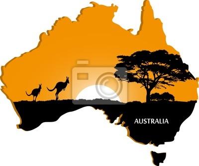 Continent australien