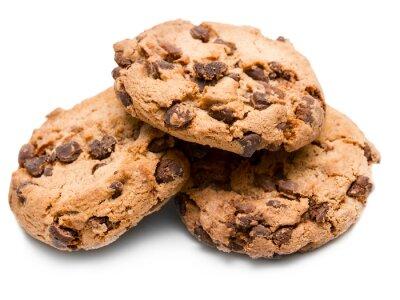 Sticker cookie aux pépites de chocolat