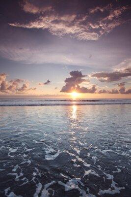 Sticker Coucher de soleil sur Bali