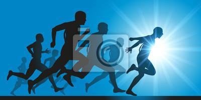 Cours à pied - Sprint