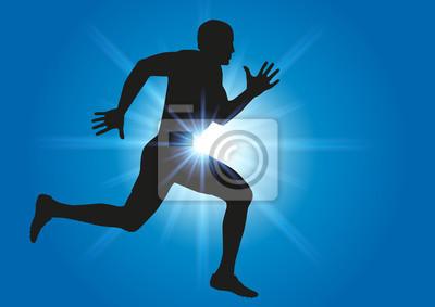 Cours de l'athlète