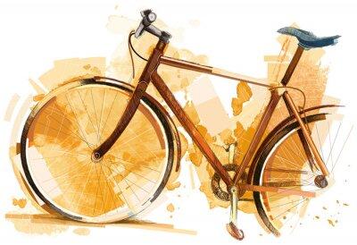 Sticker Course de vélo