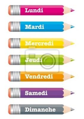 Crayons Semaine