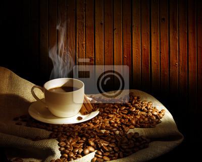 Cuisson à la vapeur tasse de café