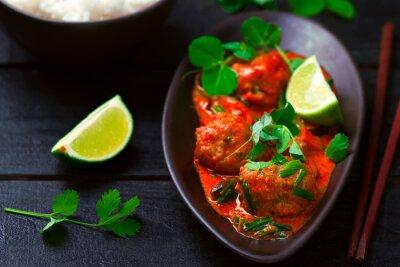 Sticker Curry thaï chaude avec du poisson