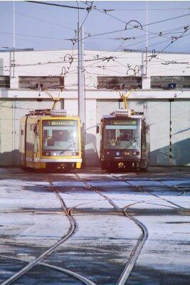Sticker Dépôt de tramway