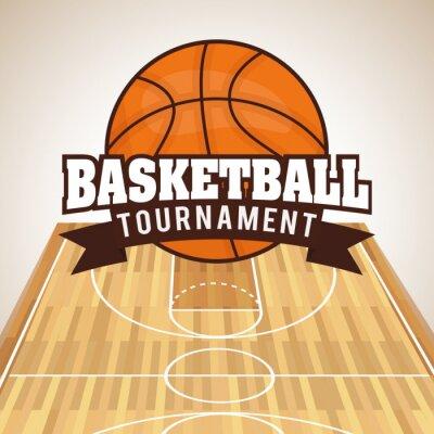 Sticker Design Basketball