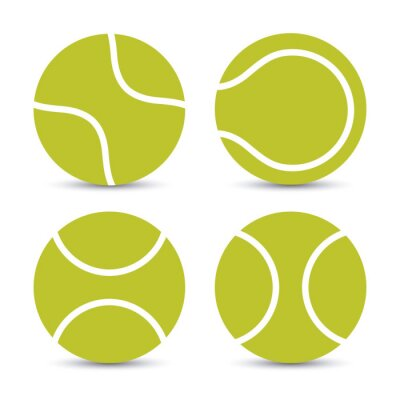 Sticker Design Tennis