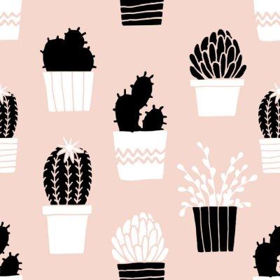Sticker Dessin, cactus, dessin