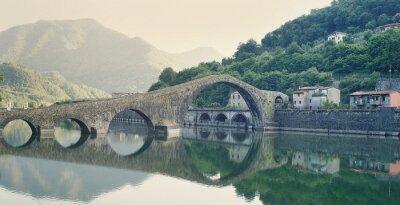 Sticker Devils Bridge Italie