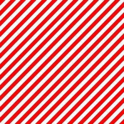 Sticker Diagonal, bande, rouge-blanc, modèle, vecteur