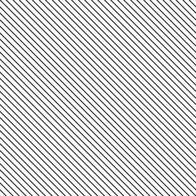 Sticker Diagonal stripe modèle sans couture. Géométrique fond noir et blanc classique de ligne mince.