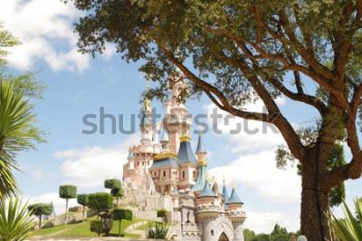 Sticker Disneyland Paris castle