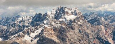 Sticker Dolomites montagne