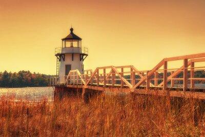 Sticker Doubling Point Lighthouse en Nouvelle-Angleterre