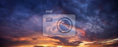 Sticker Dramatic ciel du soir