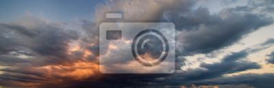 Sticker Drame, ciel, orageux, nuages