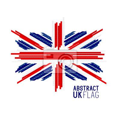 Sticker Drapeau d'Union Jack Royaume-Uni