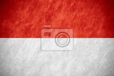 Sticker Drapeau de l'Indonésie