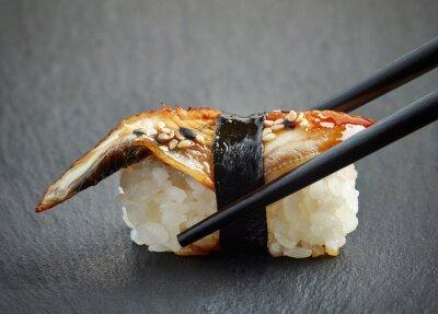 Sticker Eel sushi