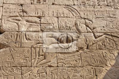 Egypte Louxor vue Temple