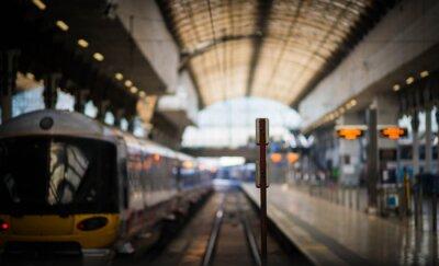Sticker En attendant le train