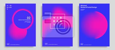 Sticker Ensemble de modèle de conception abstraite tendance