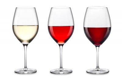 Sticker ensemble de verres à vin
