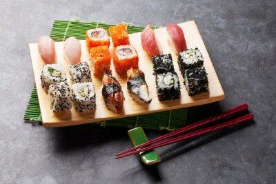 Sticker Ensemble, sushi, maki, rouleau