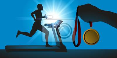 Entrainement - Médaille - Motivation