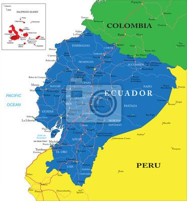 Equateur carte