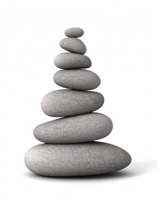 Sticker Équilibrer pierres