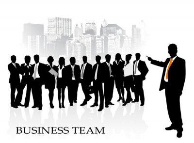 équipe commerciale