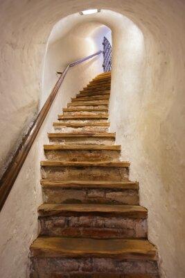 Sticker Escaliers dans le château de Kufstein - Autriche