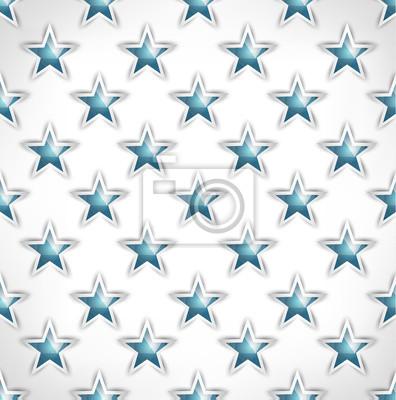 Étoiles Seamless polygonale dessin stylisé géométrique