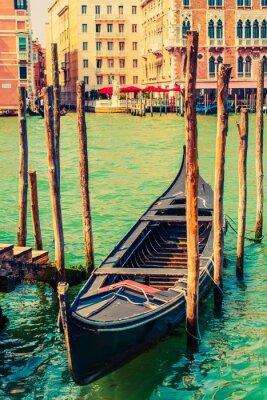 Sticker Famous Venice Gondola