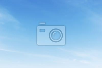 Sticker Fantastique, doux, blanc, nuages, bleu, ciel, fond ...