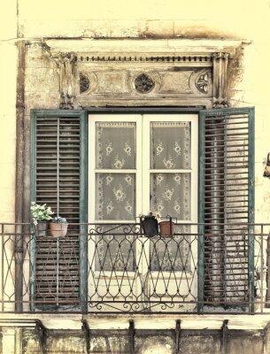 Sticker Fenêtre à Palerme
