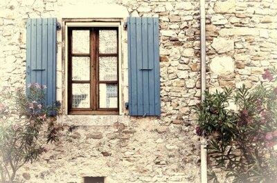 Sticker Fenêtre française