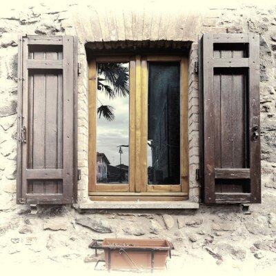 Sticker Fenêtre italienne