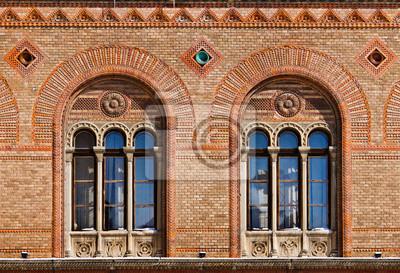 Fenêtres anciennes au palais