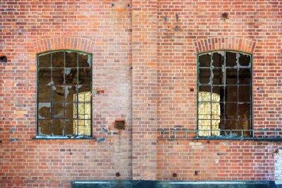 Sticker Fenêtres cassées
