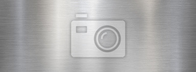 Sticker Fine brushed wide metal steel or aluminum plate