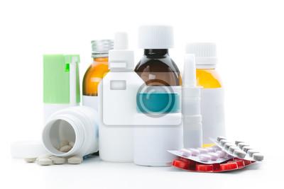 Sticker Flacons de médicaments vides