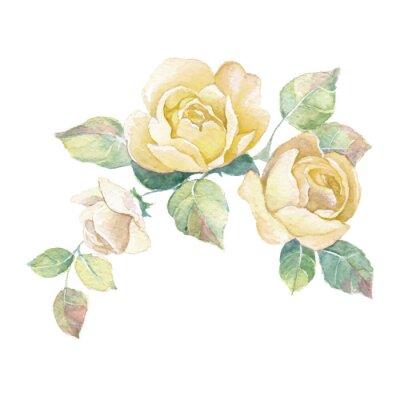 Sticker Floral, branche, 2, vecteur