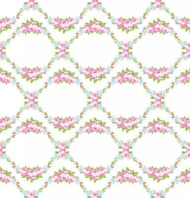 Sticker Floral, modèle, jardin, rose, roses