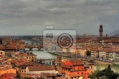 Florence (Italie) - Vue de la Piazza del Michelangelo