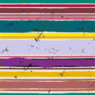 Sticker Fond abstrait, avec des traits et des éclaboussures, motif de rayure,
